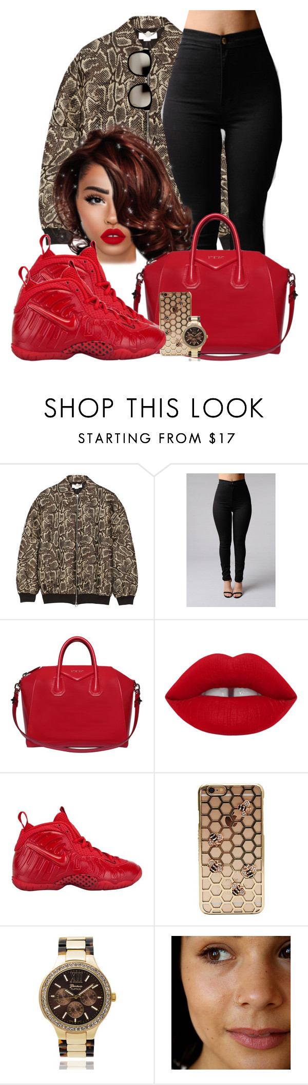 """Novacane"" by chiamaka-ikaraoha ❤ liked on Polyvore featuring STELLA McCARTNEY, Givenchy, NIKE, Geneva and Linda Farrow"