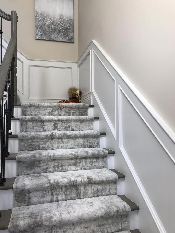 Home Depot Carpet Runners Vinyl Carpetrunnerswithborders Id 4270227091 In 2020 Carpet Stairs Narrow Hallway Decorating Stair Runner Carpet