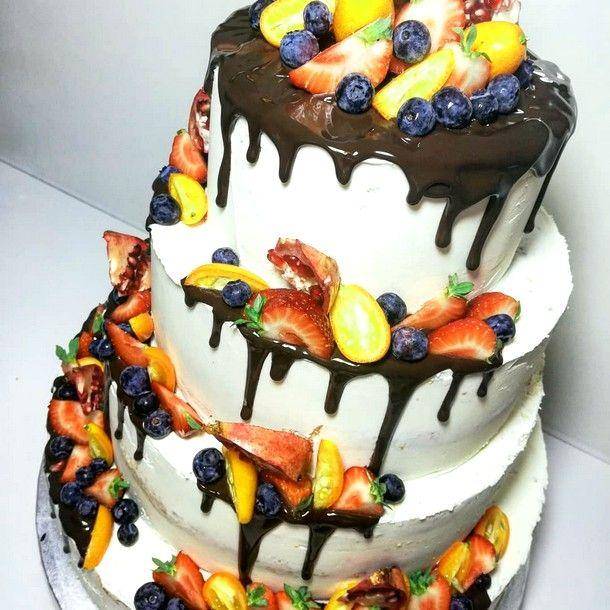 67+ Ideas For Fruit Cake Decoration