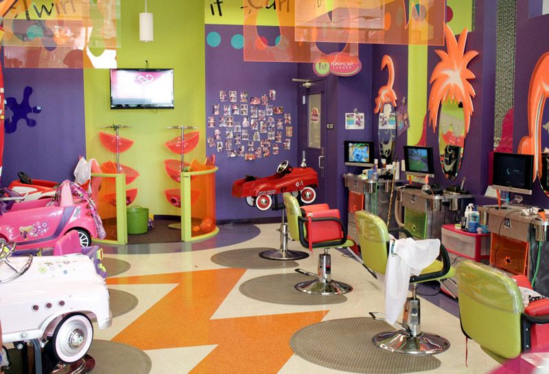 Kids Hair Salon and Toy Store Company History Shear Madness Haircuts for  Kids opened their first