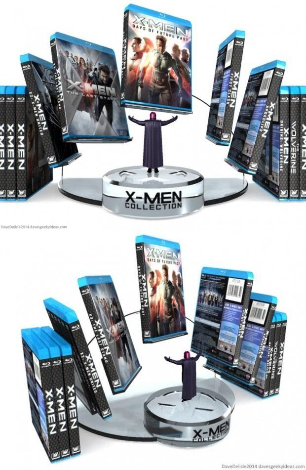 X Men Blu Ray Collection Display Displaying Collections Funko Pop Display Blu Ray Collection