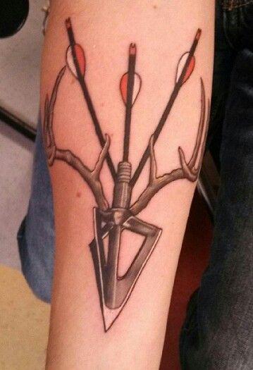 Easy Hunting Tattoos : hunting, tattoos, Arnold, (co8tma), Profile, Pinterest