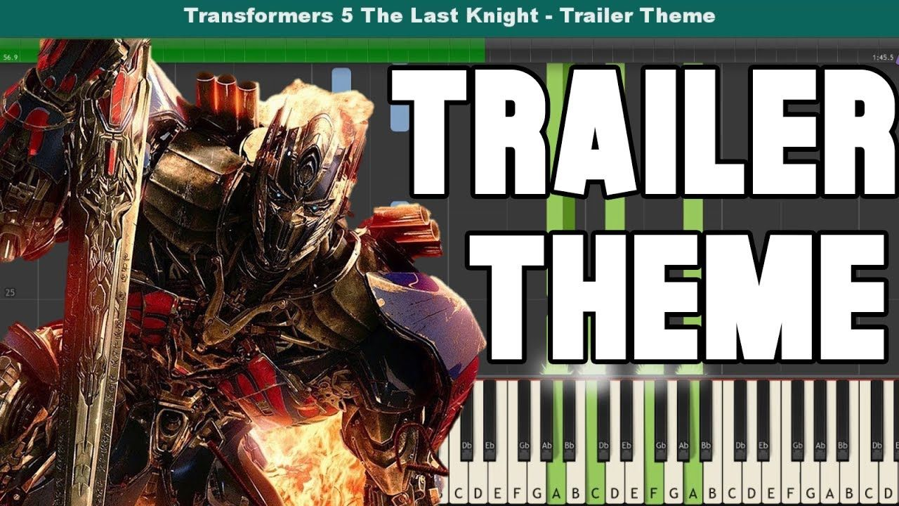 Transformers 5 The Last Knight Piano Tutorial Free Sheet Music