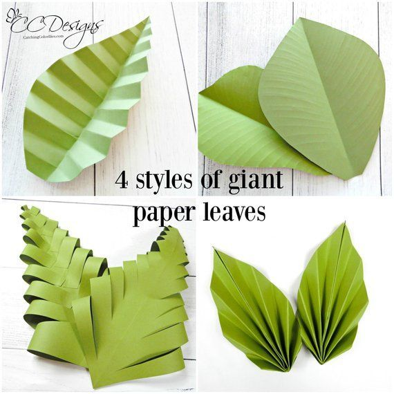Large Paper Flowers and Giant Paper Rose Templates with Tutorials, DIY Paper Flower Wall Wedding Backdrop, Christmas Gift