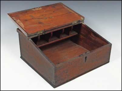 Antique portable writing desk for when I just want to brainstorm novel  ideas from the comfort - Antique Portable Writing Desk For When I Just Want To Brainstorm
