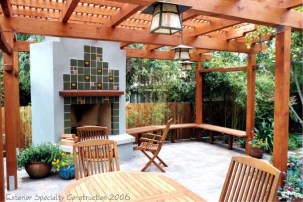 Decks, Los Angeles CA, and Builder of Custom Wood Patio Covers, Fences and more.