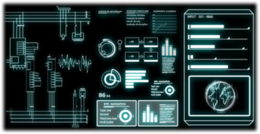 Sci Fi Futuristic User Interface Vector Stock Vector 247753297 ...
