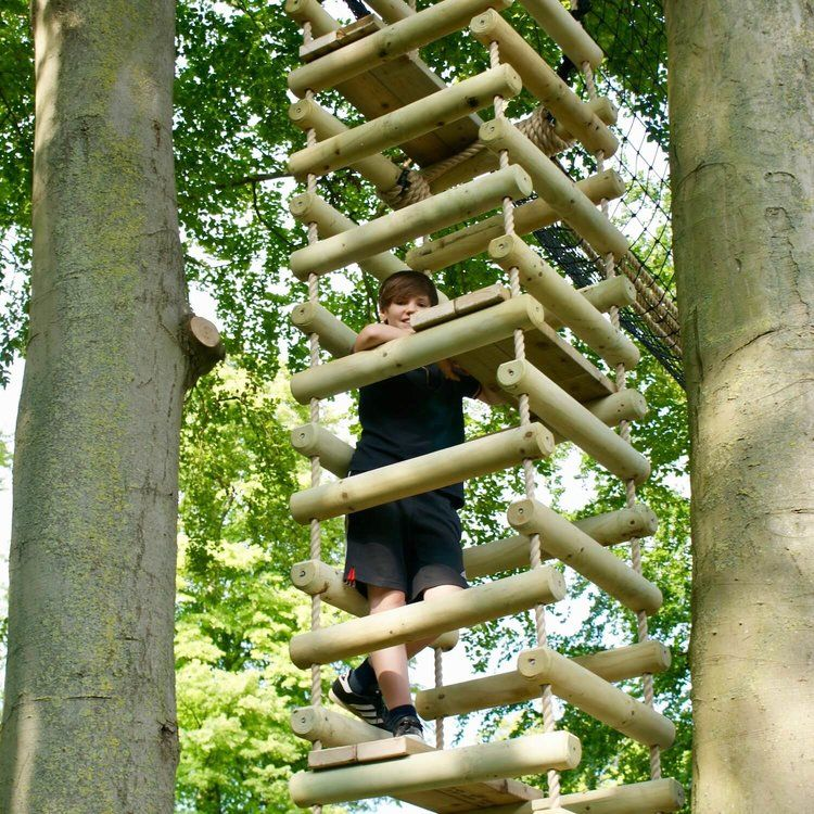 About Us Rope Bridges By Treehouse Life Ltd A World Away From Everyday Rope Bridge Projects Uk And Worldwide Desi In 2020 Rope Ladder Nest Swing Rope Bridge