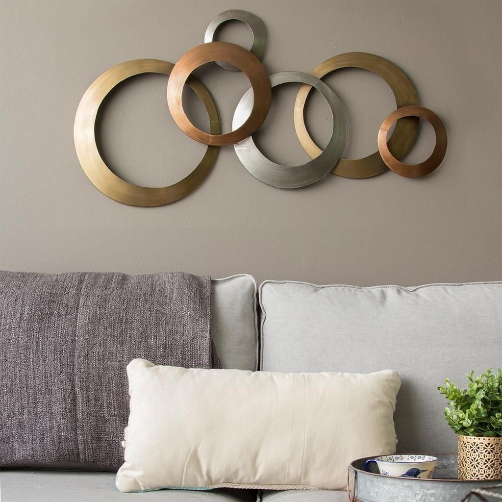 42 Awesome Metal Wall Decor Ideas For Your Living Room Wall Decor Living Room Home Decor Wall Art Medallion Wall Decor
