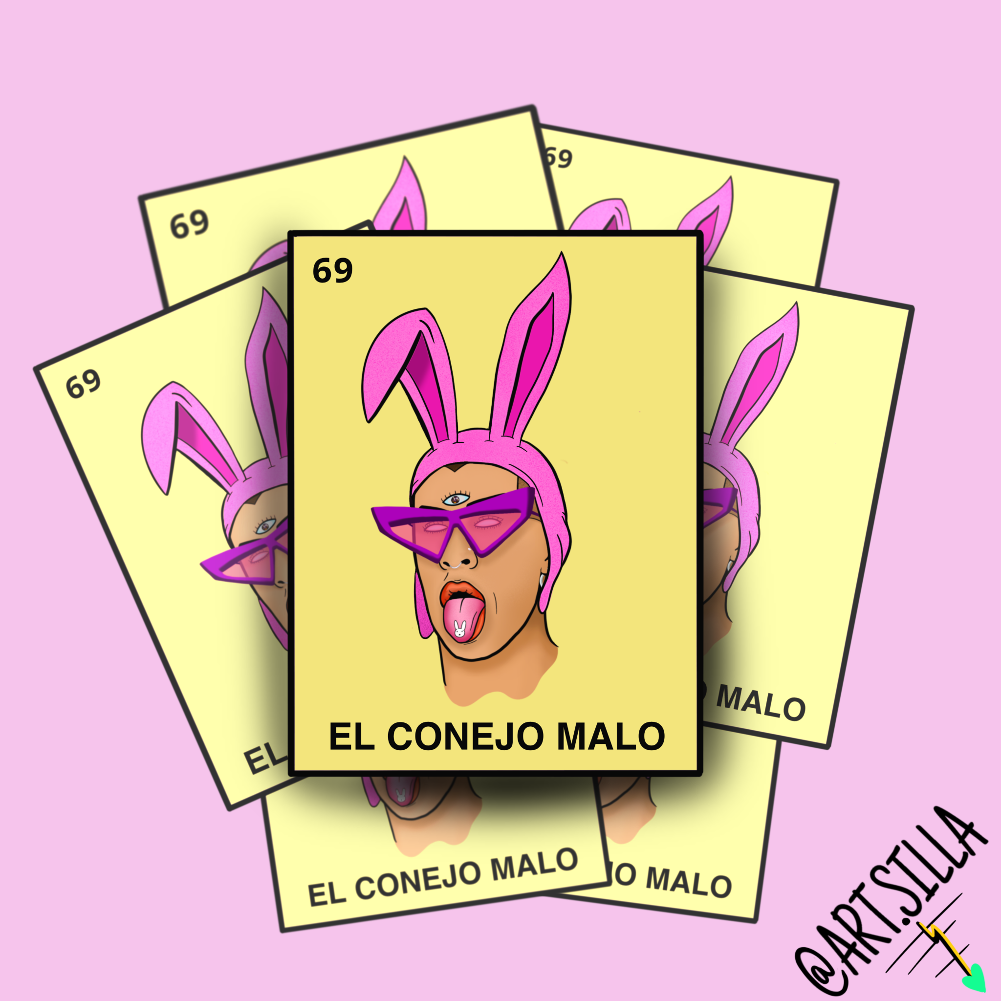 Pin On Bad Bunny Stickers
