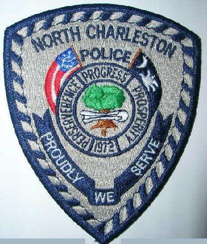 North Charleston PD SC patch