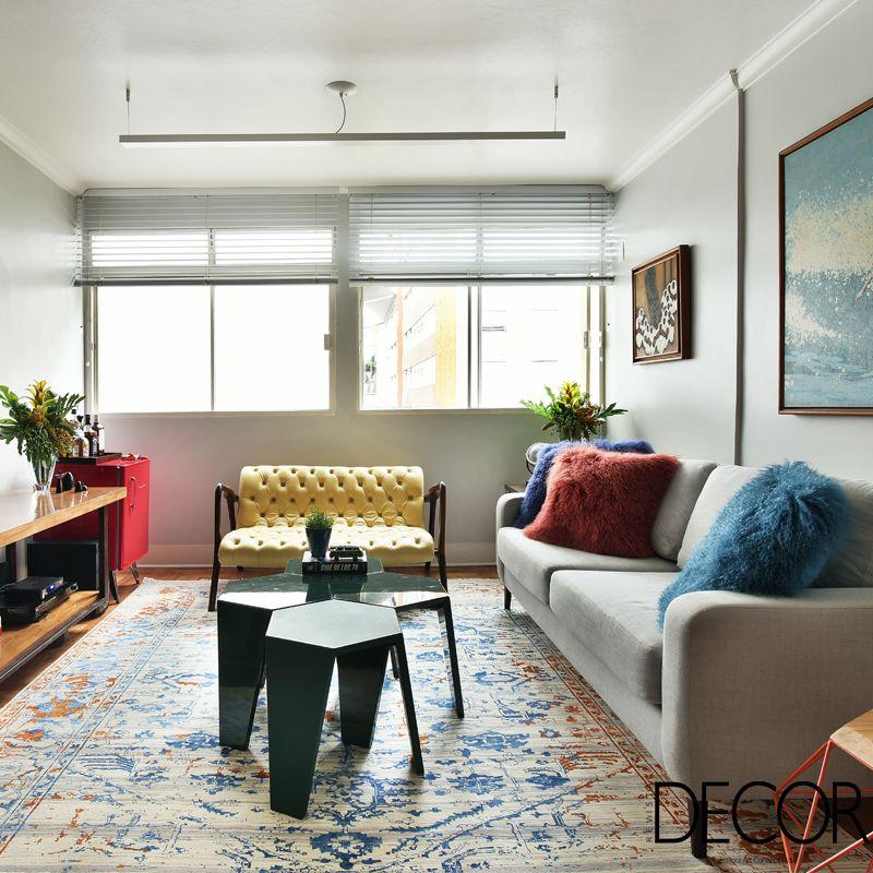 Com visual funcional e descontraído, apartamento em São Paulo reproduz o estilo de vida e a personalidade dos proprietários.