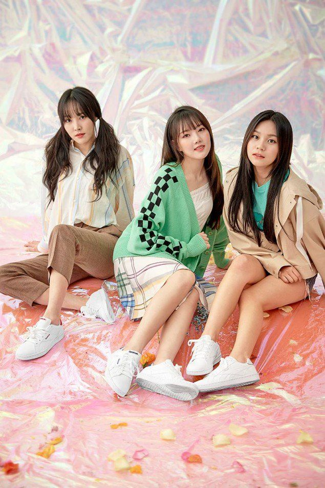 G-Friend poses with Reebok for their 'Dazed and Confused' photoshoot