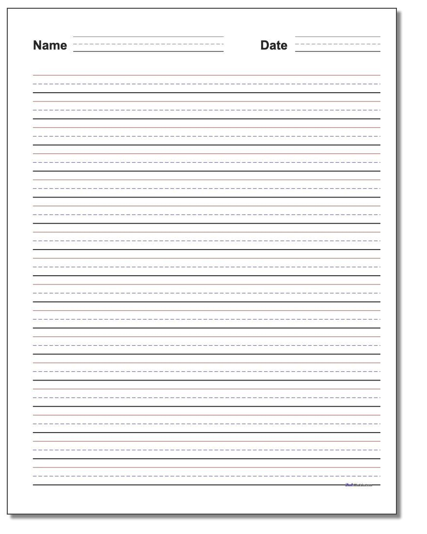 hight resolution of Blank Handwriting Worksheets for Kindergarten   Worksheet for Kindergarten  in 2020   Writing practice worksheets