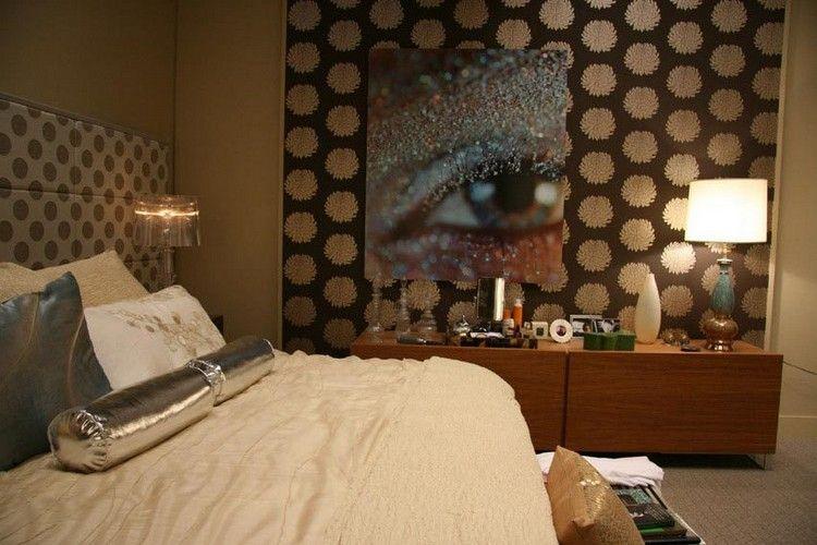 schlafzimmer inspiration serena gossip girl wanddeko idee wandbild