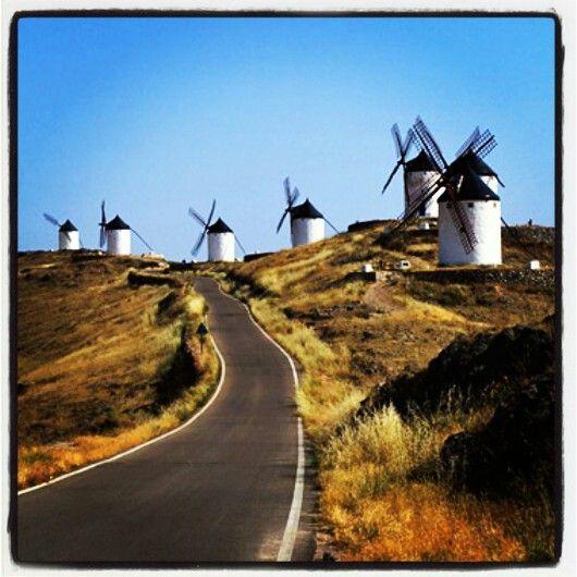 ♥♥♥ De camino a los Molinos de Consuegra   Castilla La Mancha