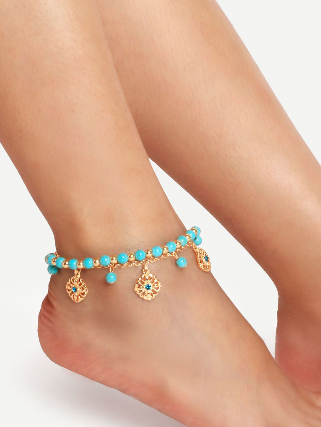 bloomingdales dollar bracelet gallery jewelry gold bloomingdale yellow lyst designer bracelets in ankle anklet sand s