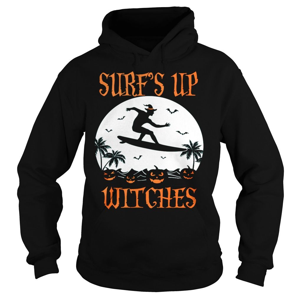Halloween SURF'S UP WITCHES T SHIRT #halloweencostumeswomen