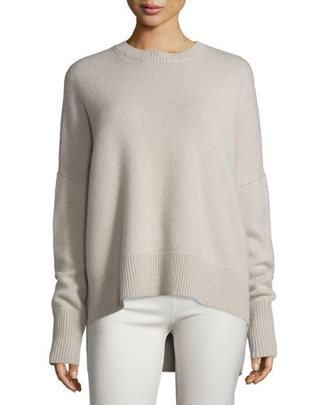 f3ac9495d85 THEORY Karenia Ribbed Cashmere Sweater