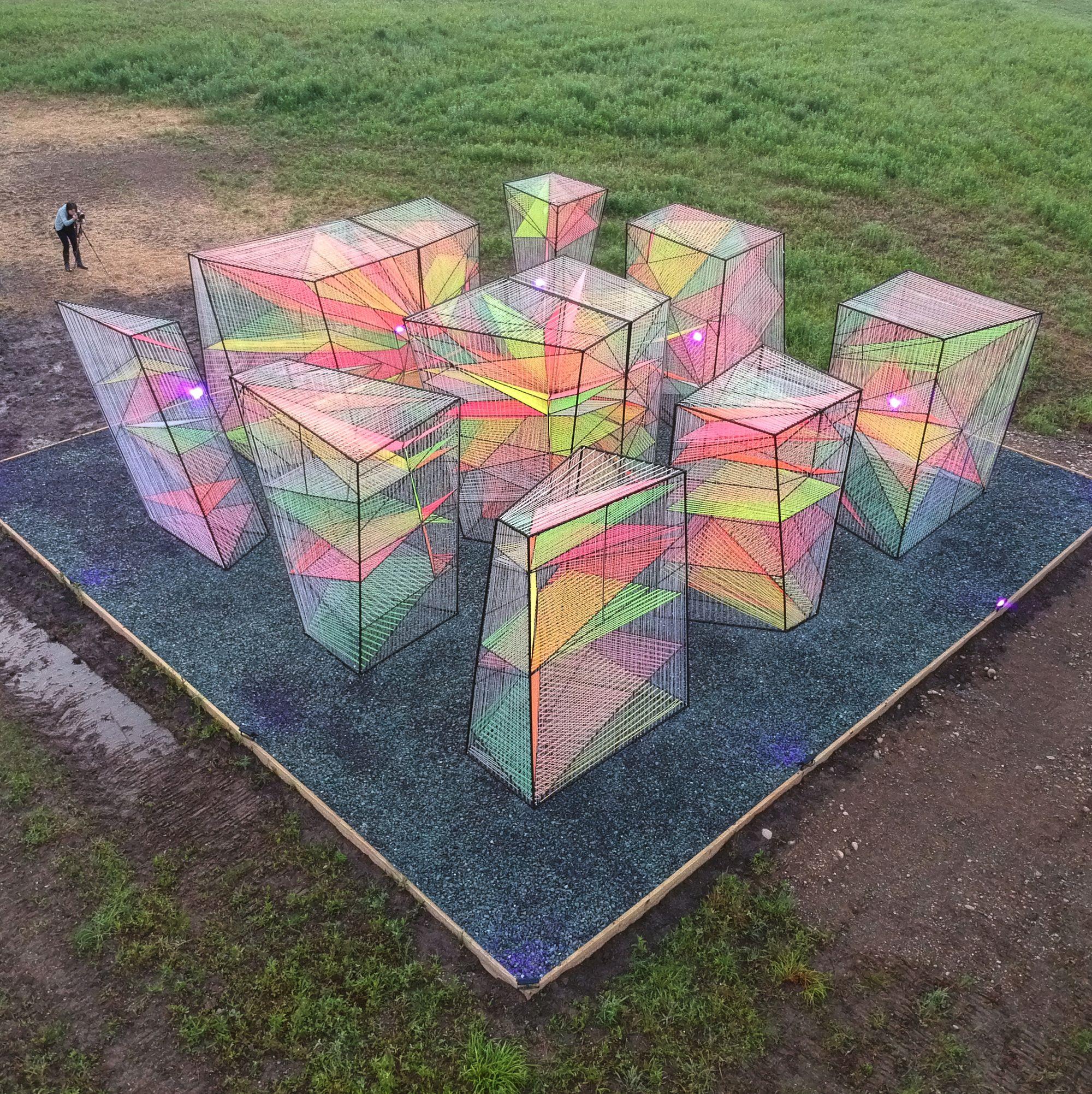 Prismatic Installation Hou De Sousa In 2020