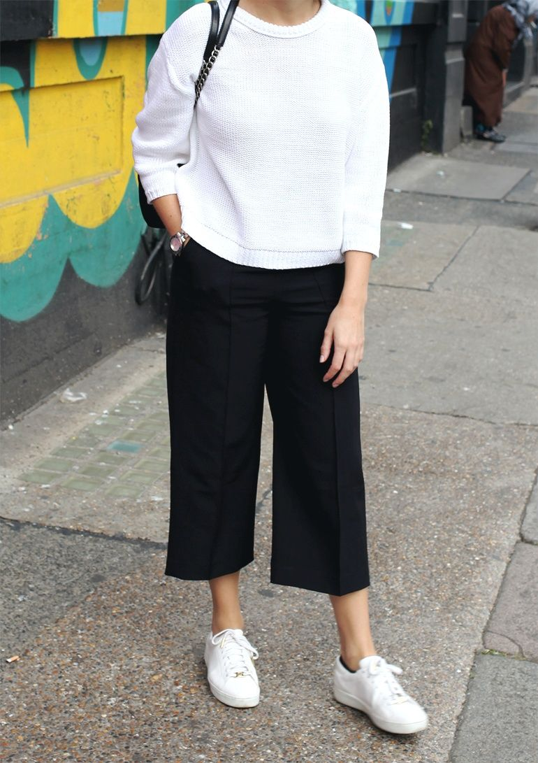 Parity > culottes outfit with sneakers , Up to 66% OFF