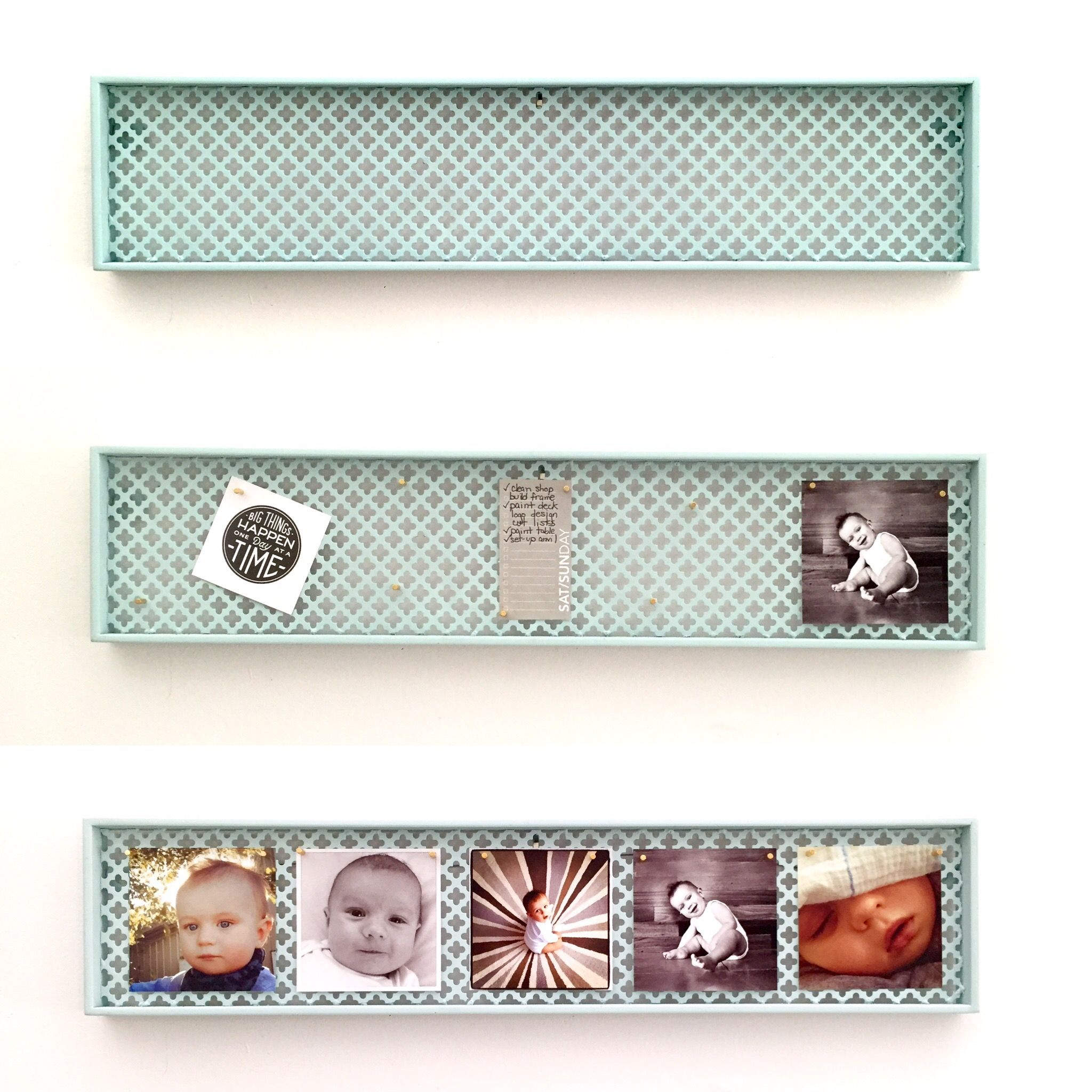 Decorative Perforated Magnet Board Instagram Photo