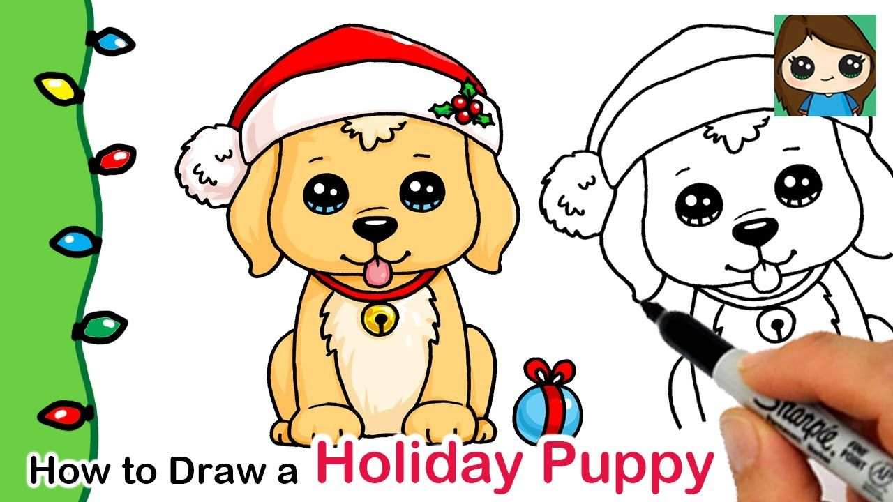 Pin by Irma Loza on Draw So Cute Holiday puppies