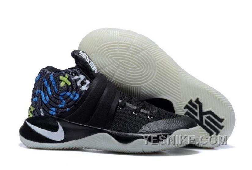 Nike Kyrie 2 BlackMultiColor Basketball Shoes