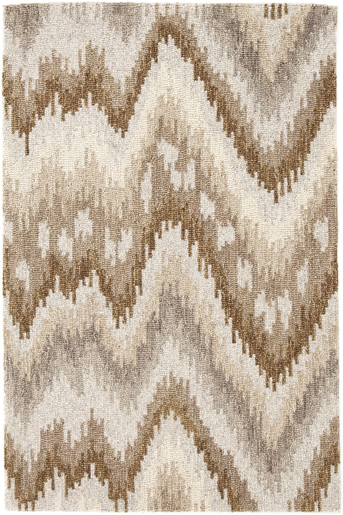 Graymond Micro Hooked Wool Rug The Outlet Dash And Albert Rugs