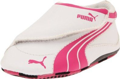Pink puma shoes, Crib shoes, Toddler shoes