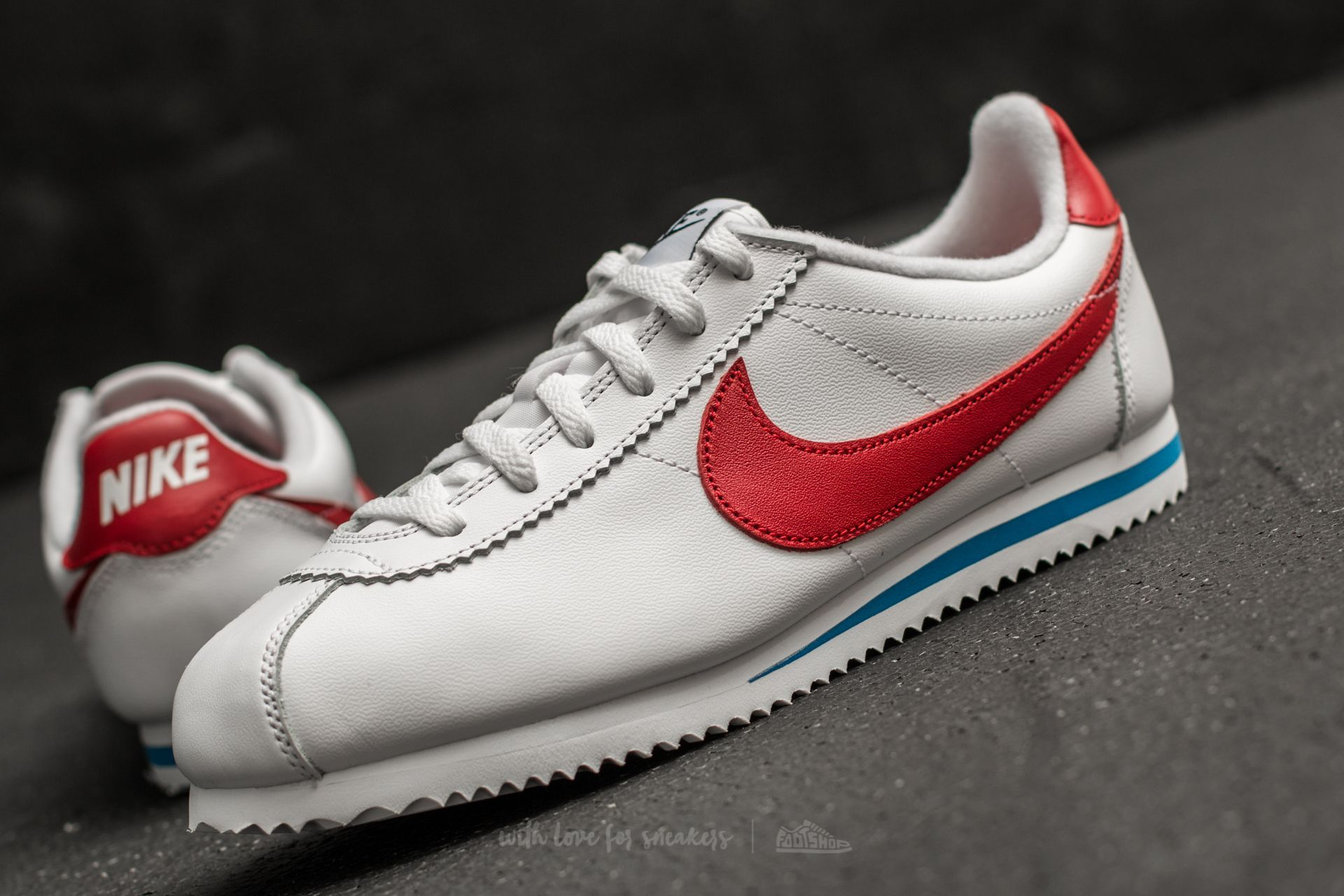 cheap for discount 9948d 95489 ebay nike classic cortez leather se gs white varsity red za skvlou cenu 1  a7434 0ea25