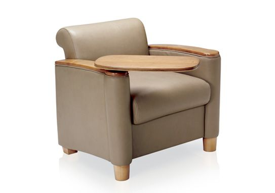 Cody Lounge Chair With Tablet Arm Lounge Seating Chair