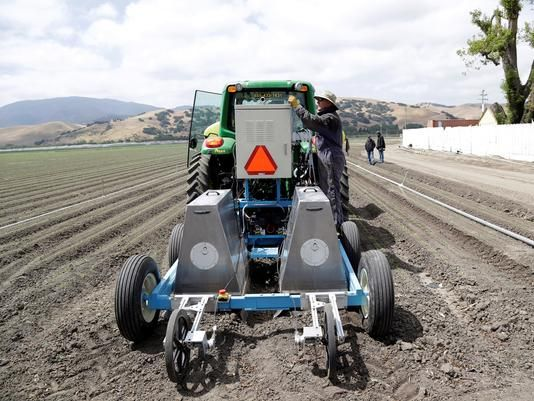 How robots may affect farming's future