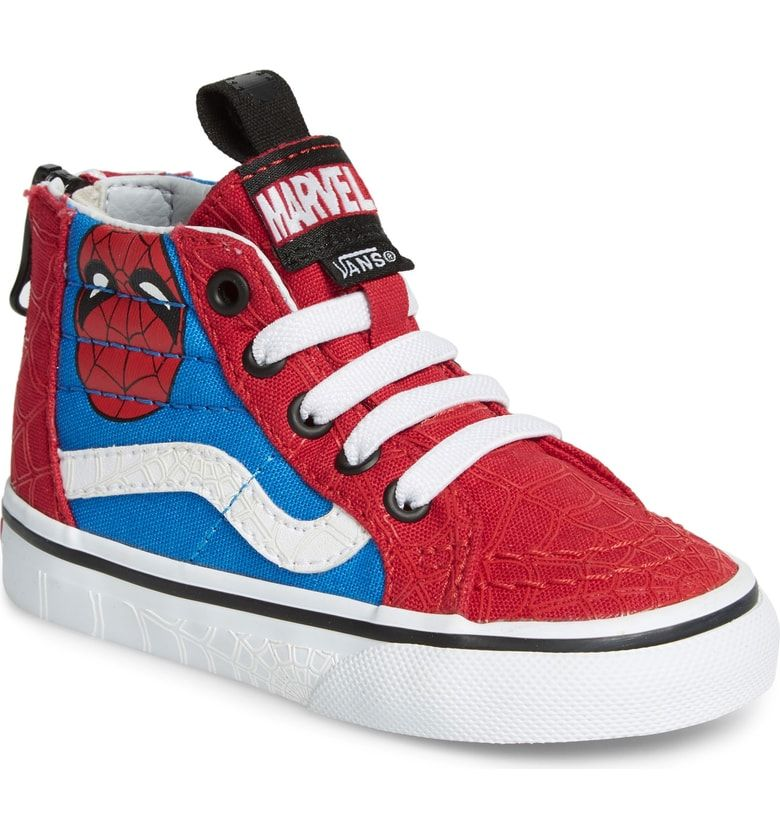 Spider-Man SK8-Hi Sneaker (Baby, Walker