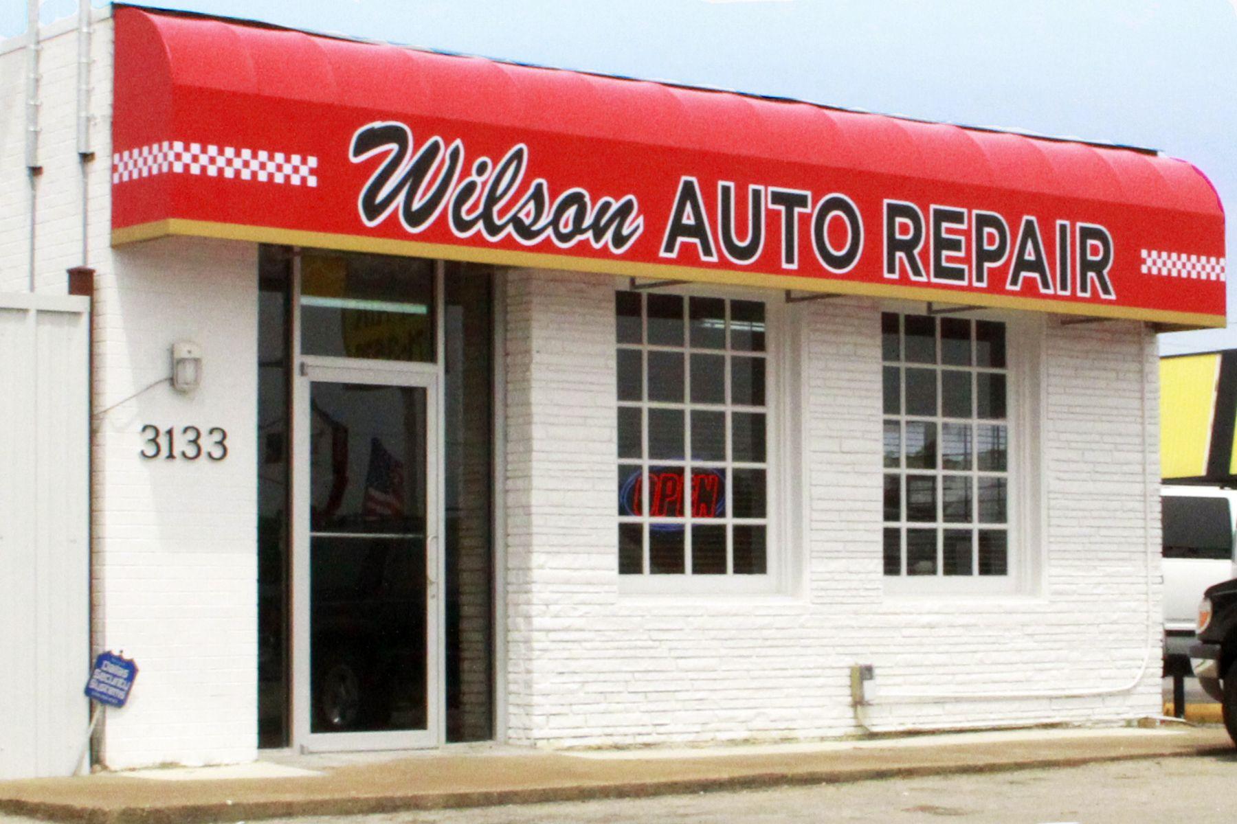 Wilson Auto Repair is a classic car restoration shop in