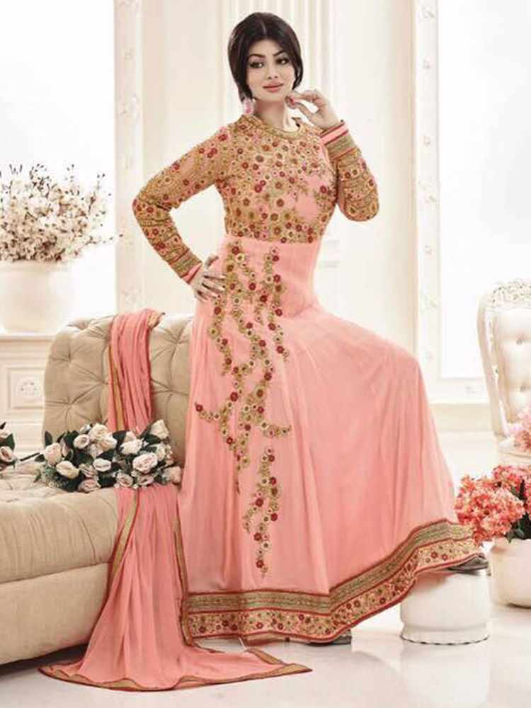 New Party Wear Gown Indian Ethnic Bollywood Fancy Look Ebay