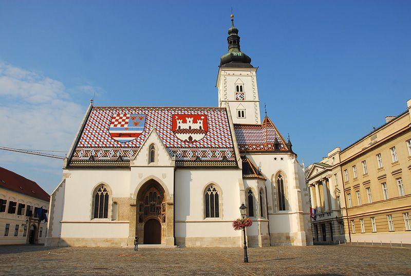 Crkva Sv Marka Zagreb Croatia Vacation Zagreb Croatia