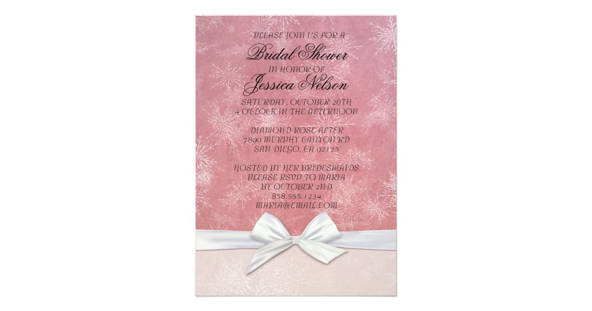 creative bridal shower invitation ideas%0A Bridal Shower romantic invitations will make your party more special and  unique  Customized designs