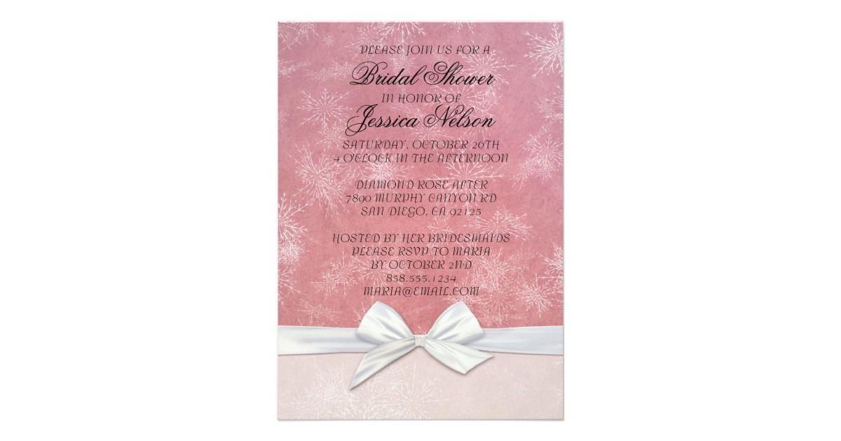 Bridal Shower romantic invitations will make your