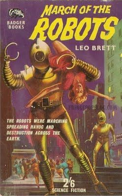 Cyberneticzoo Blog Archive Robots And Pretty Girls Part 2b Pulp Vintage RobotsThe RobotLeoBook CoversSci Fi