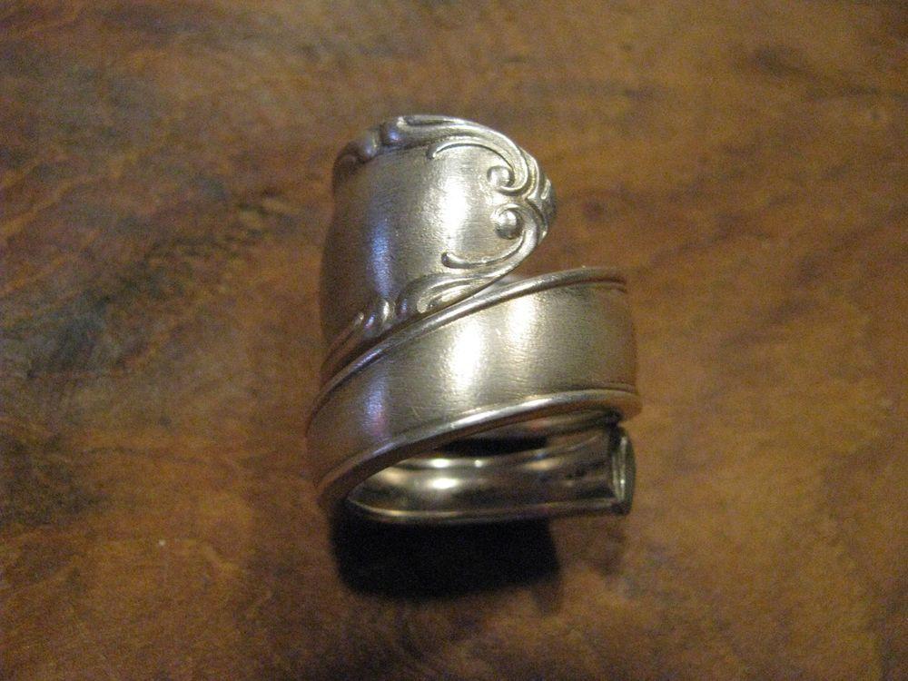 besteckschmuck silberschmuck ring kette spoonring in uhren schmuck modeschmuck ringe ebay. Black Bedroom Furniture Sets. Home Design Ideas