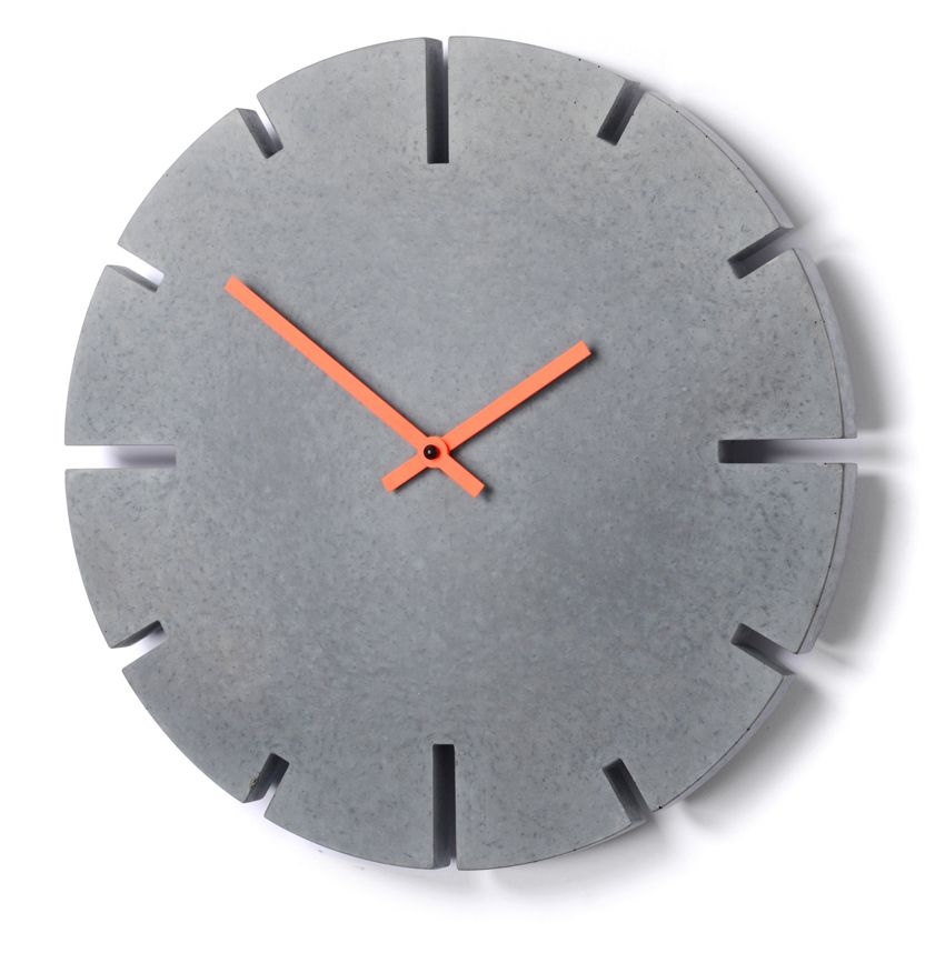 Wanduhr Disco www.urform-haller.de concrete clock betonuhr beton uhr