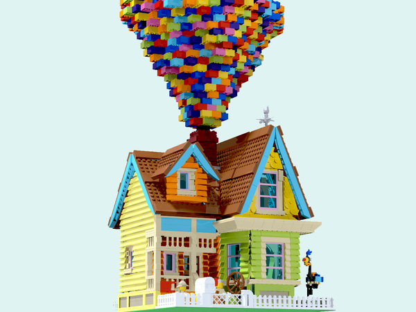 Lego Ideas Up House Is An Adventurous Set We Want To See Best Lego Sets Lego Architecture Lego Disney