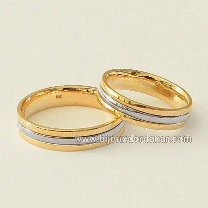 pra163 bagues de mariage assorties en or jaune et or. Black Bedroom Furniture Sets. Home Design Ideas