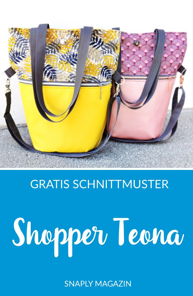 Photo of Kostenloses Schnittmuster: Shopper Teona | Snaply-Magazin