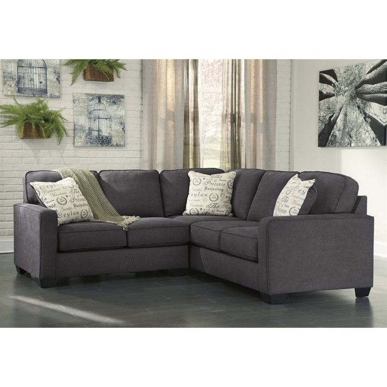 Lovely Lowest Price Online On All Ashley Furniture Alenya 2 Piece Sectional In  Charcoalu2026