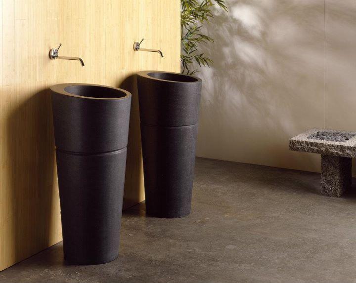 Stone Forest Veneto Pedestals Pedestal Sink Stone Tub Sink Design
