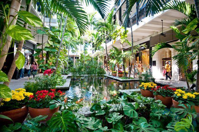 garden shopping mall