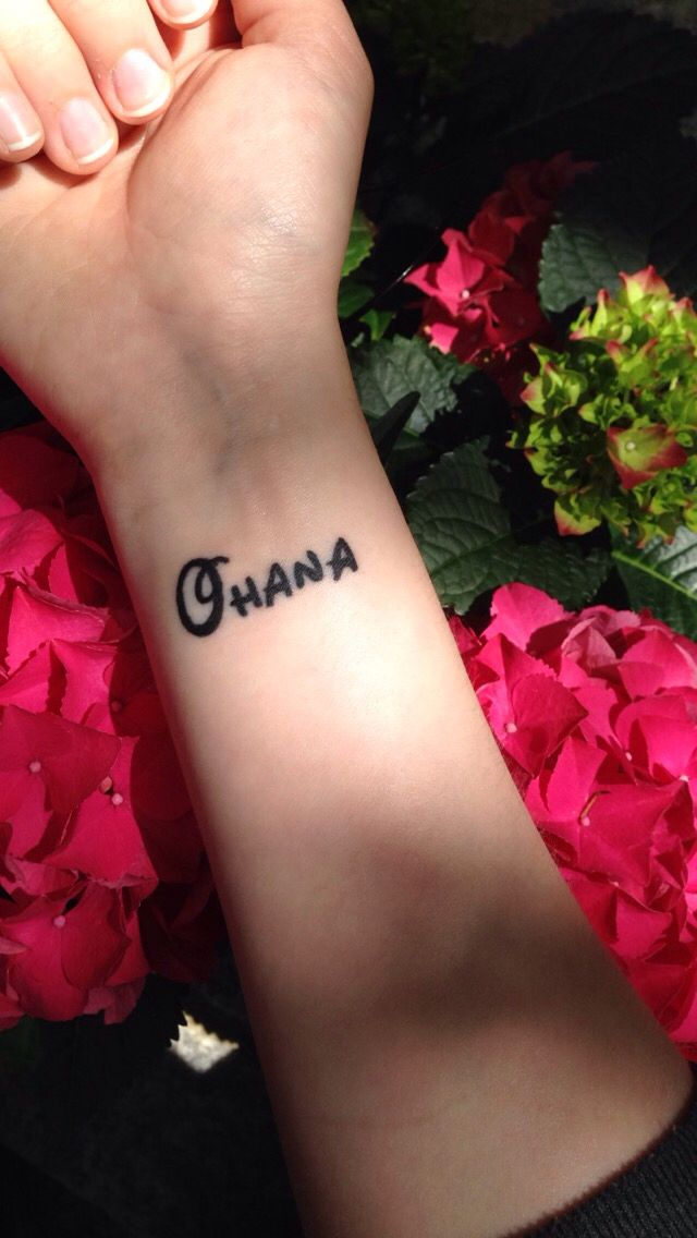 Ohana Means Family And Family Means That Nobody Gets Left Behind Or