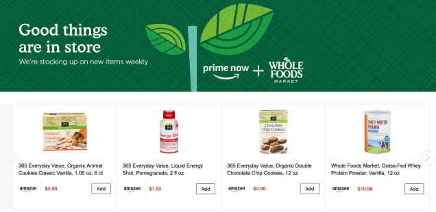Save 10 On Your First Prime Now Order Now With A Bunch Of Whole Foods Favorites Whole Food Recipes Words Amazon Prime Now